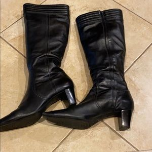 Black Cole Haan boots - size 10